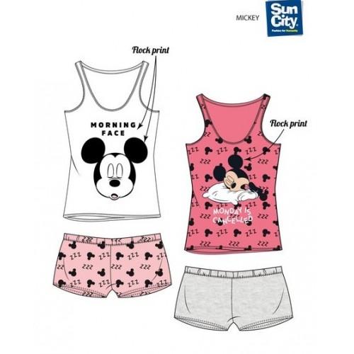 Pijama mujer sin mangas Mickey