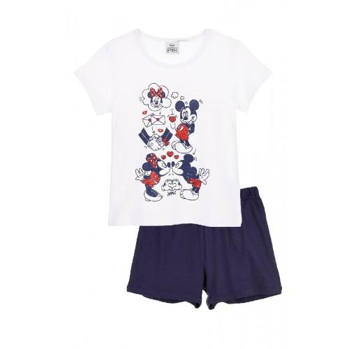 Pijama niña Mickey y Minnie