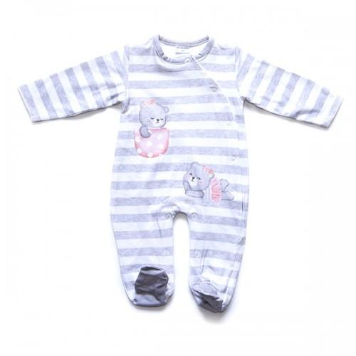 Pelele bebé manga larga ositos