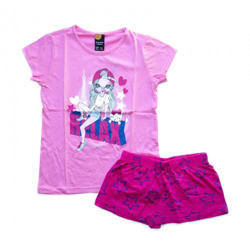 Pijama niña Relax rosa 40 GRADOS