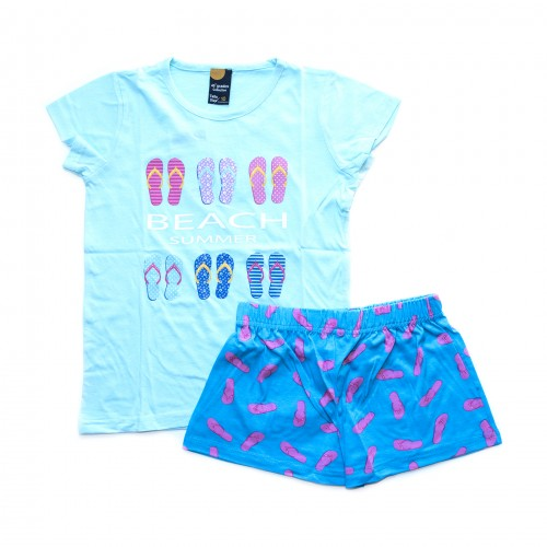 Pijama niña Beach Summer 40 GRADOS