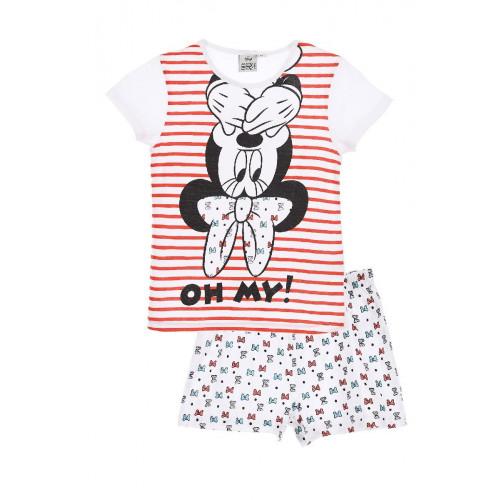 """Pijama niña Minnie """"OH MY!"""""""