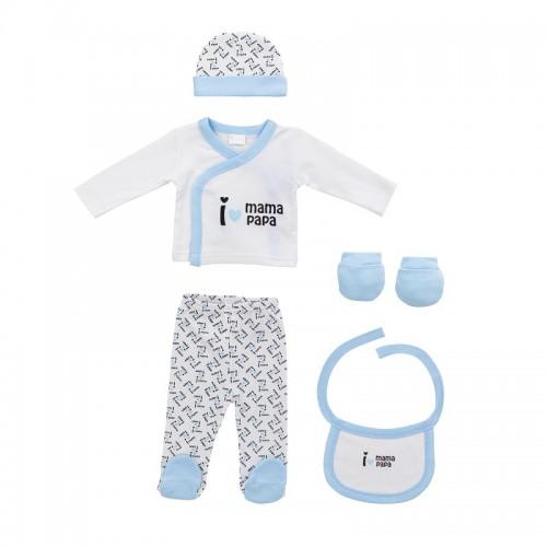 Set 5 piezas primera puesta bebé Mickey