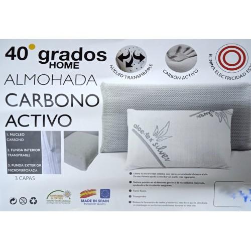 Almohada de carbono activo