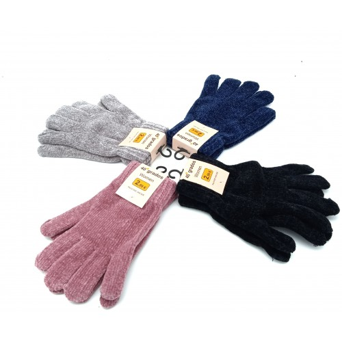 Guantes mujer poliester