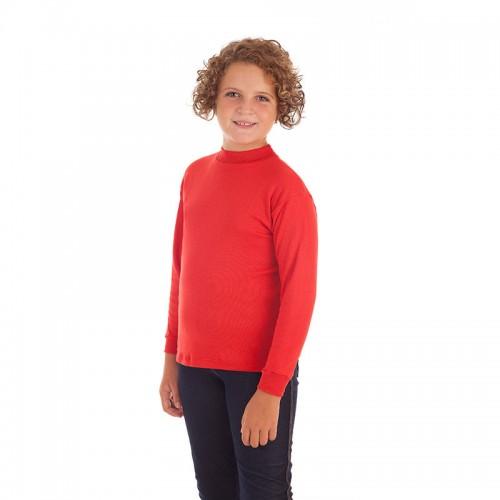 Camiseta cuello semicisne niña y niño