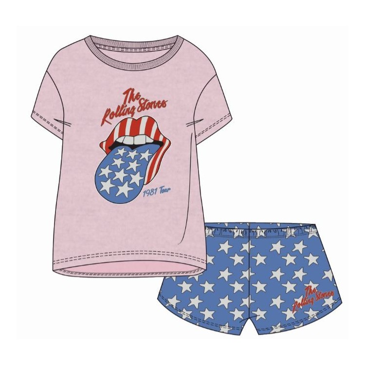 Pijama mujer The Rolling Stones